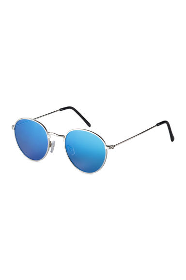 Sunglasses - Silver/Blue - Men | H&M 1