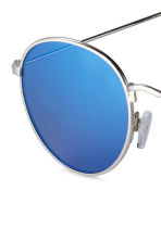 Sunglasses - Silver/Blue - Men | H&M 3