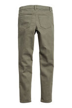 Twill biker trousers - Khaki green - Kids | H&M CN 3