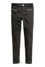 Twill biker trousers - Black - Kids | H&M 2