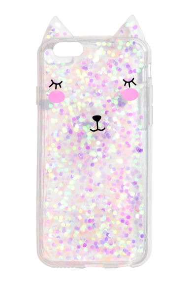 iPhone case - Pink/Glittery - Ladies | H&M CN 1