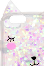 iPhone case - Pink/Glittery - Ladies | H&M CN 2