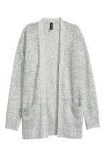 Knitted cardigan - Natural white marl - Ladies | H&M 2