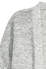 Knitted cardigan - Natural white marl - Ladies | H&M CN 3