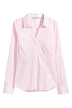 Fitted shirt - Light pink/Striped - Ladies | H&M 2