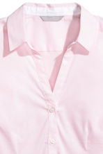 Fitted shirt - Light pink/Striped - Ladies | H&M 3
