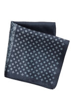 Patterned handkerchief - Dark blue/Patterned - Men | H&M 1