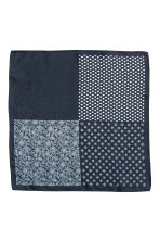 Patterned handkerchief - Dark blue/Patterned - Men | H&M 2