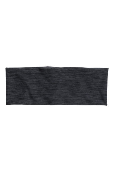Hairband - Black marl - Ladies | H&M CA 1