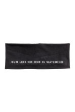 Hairband - Black/Text print - Ladies | H&M 1