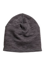 Running hat - Dark grey marl - Ladies | H&M GB 1