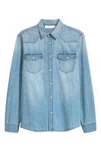Denim shirt - null - Men | H&M CN 2