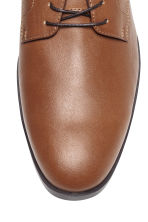 Derby shoes - Cognac brown - Men | H&M CN 3