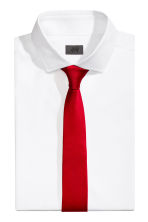 Satin tie - Red - Men | H&M CN 1