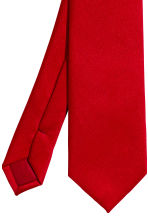 Satin tie - Red - Men | H&M CN 3