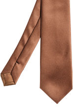 Satin tie - Rust brown - Men | H&M 3
