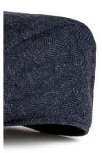Flat cap - Dark blue - Men | H&M CN 2