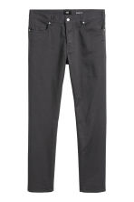 Twill trousers Slim fit - Anthracite grey -  | H&M 3