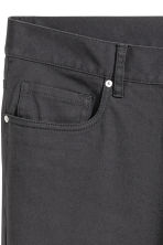 Twill trousers Slim fit - Anthracite grey -  | H&M 5