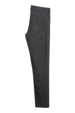 Twill trousers Slim fit - Anthracite grey -  | H&M 4