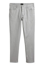 Twill trousers Slim fit - Grey - Men | H&M 2