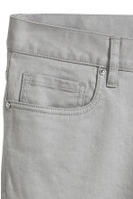 Twill trousers Slim fit - Grey - Men | H&M 4