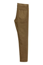 Twill trousers Slim fit - Khaki - Men | H&M 3