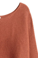 Pullover in maglia a coste - Ruggine - DONNA | H&M IT 3