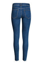 Super Skinny Regular Jeans - Dark denim blue - Ladies | H&M CA 3