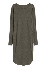 Marled jersey dress - Dark green - Ladies | H&M CN 2