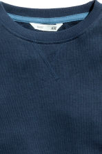 Sweatshirt - Dark blue - Kids | H&M CN 3