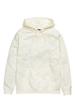 Hooded top - White - Men | H&M 2