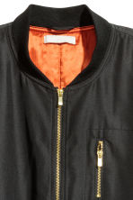 Bomber oversize - Nero - DONNA | H&M IT 3