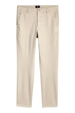 Chinos Skinny fit - Light beige - Men | H&M 2