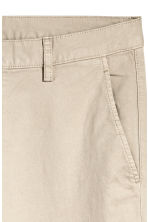 Chinos Skinny fit - Light beige - Men | H&M 3