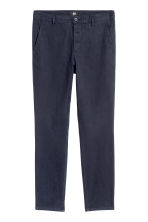 Chinos Skinny fit - Dark blue - Men | H&M CA 2