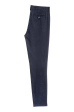 Chinos Skinny fit - Dark blue - Men | H&M CA 3