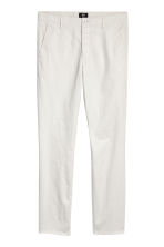 Chinos Skinny fit - Light grey - Men | H&M CN 2