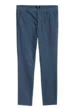 Chinos Skinny fit - Navy blue - Men | H&M CN 2