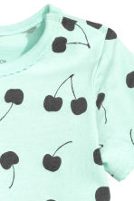 Top con volant - Verde menta - BAMBINO | H&M IT 2