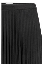 Pleated skirt - Black - Ladies | H&M 3