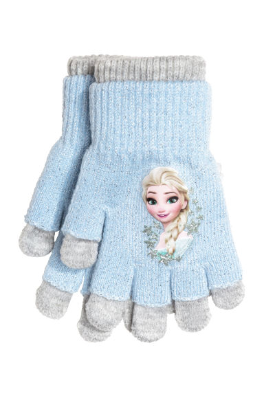 Fingerless gloves h m - Gloves Fingerless Gloves Light Blue Frozen Kids H M