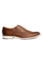 Derby shoes - Cognac brown - Men | H&M 1
