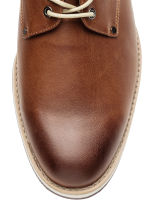 Derby shoes - Cognac brown - Men | H&M 3