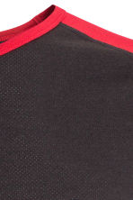 Sports top - Black/Red - Men | H&M CN 3