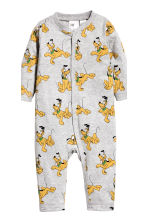 2-pack all-in-one pyjamas - Natural white/Mickey Mouse - Kids | H&M CN 2