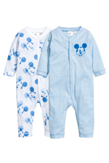 Pack de 2 pijamas enteros