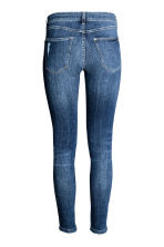 Super Skinny Low Jeans - Denim blue trashed - Ladies | H&M 3