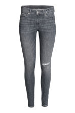 Super Skinny Low Jeans - Grijs denim - DAMES | H&M NL 2