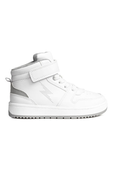 Hi-top trainers - White - Kids | H&M